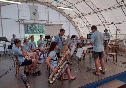 Jazzový koncert v Jelenských…